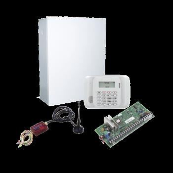 """KIT de Panel de Alarma Hibrido/Teclado 6162RF Y Comunicador 3G/4G con 1er AÑO """"ILIMITADO"""" de Comunicacion 3G/4G/Aplicación gratuita."""