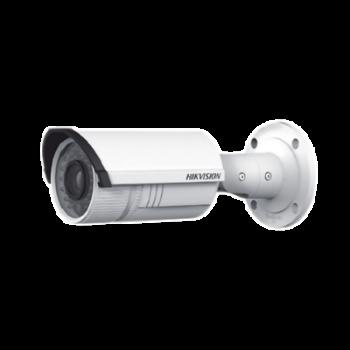 Bala IP 2 Megapixel / Lente Mot. 2.8 a 12 mm / 30 mts IR / Entrada y Salida audio y alarma / Hik-Connect / PoE / H.264+ / WDR 120dB / MicroSD