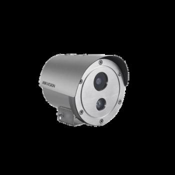 Bala IP 2 Megapixel / Anti-Explosión / H.265+ / 30 mts IR / WDR 120dB / PoE / IP68 / Entrada-Salida audio y alarma / MicroSD