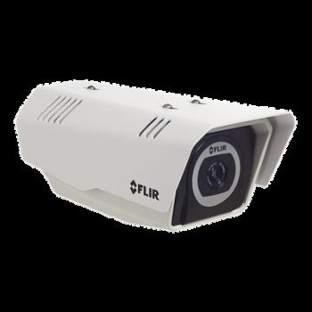 Cámara Bullet Térmica IP/Analógica, Resolución VGA, Lente de 35mm, para Exterior. Serie FC