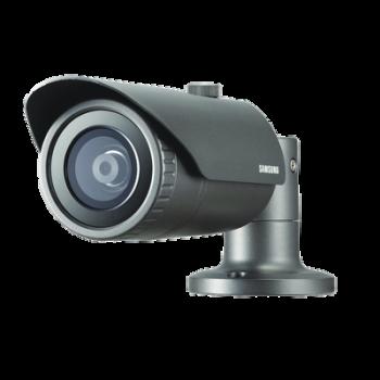 Camara bala IP 2MP, infrarroja día/noche real (ICR), video análisis, WDR, lente 3.8mm, IP66 para exterior, wiseNet III