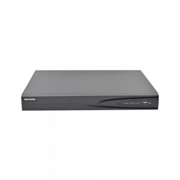 NVR 5 Megapixel / 16 canales ip / 8 puertos PoE+ / 2 HDD / HDMI / Hik-Connect P2P / H.264+ / ONVIF