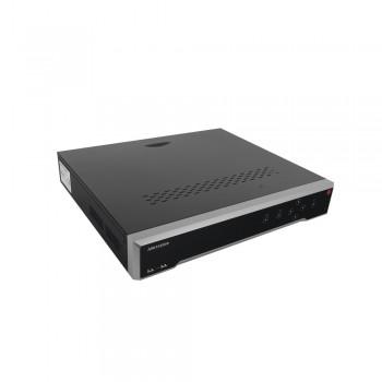 NVR 12 Megapixel (4K) / 32 Canales / H.265+ / Hik-Connect / Switch PoE 300 mts / 4 HDD / HDMI en 4K / ONVIF
