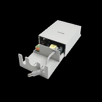 Fuente de poder para exterior 12 Vcd @ 2A, 1 salida; Voltaje de entrada de 100-240 Vca