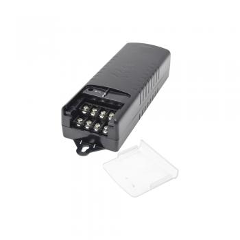 LARGA DISTANCIA Fuente de Alimentación de 11.7-15 Vcd @ 5 Amper para 4 cámaras Voltaje de entrada : 110-240 Vca