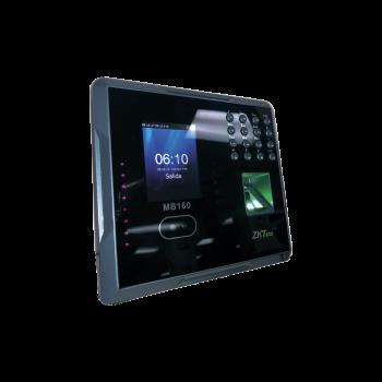 Checador Biométrico / Reconocimiento Facial / Huella / Control de Acceso 1 Puerta / 1200 Rostros / 1500 Huellas / Incluye Función ADMS