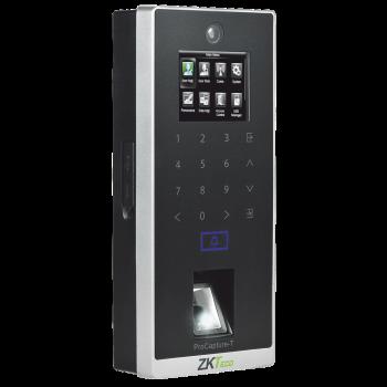 Control de acceso biometrico Silk ID / 6000 huellas / 10 000 tarjetas / Alta seguridad / 3 años de garantía / Green Label