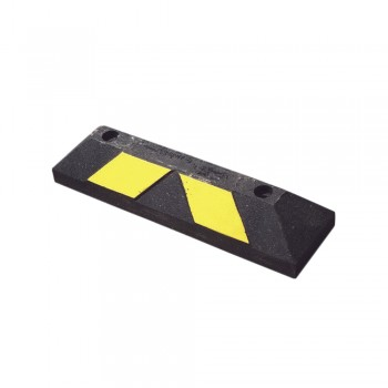 Tope de Estacionamiento Home Park It 56 cm color Negro-Amarillo