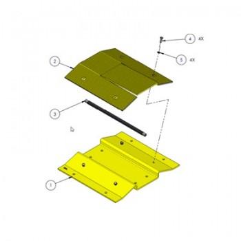 Enganche para barrera 1603180 para sistema automático de picos