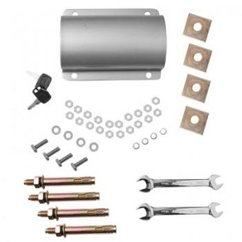 Kit de Accesorios para Barrera Vehicular. Incluye Tornillos, Abrazaderas y llaves.