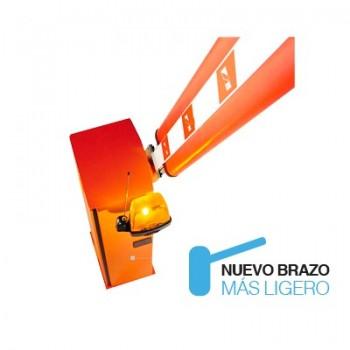 Barrera Vehicular / Hecho en Italia / Brazo 4M Iluminación LED / Soporte UPS / DERECHA / Antiaplastamiento