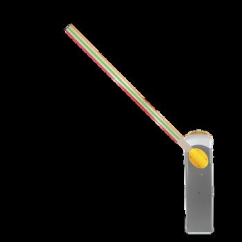Barrera Vehicular GARD4 / Hecho en Italia / LED Verde/Rojo Brazo de 4 metros INCLUIDO / Diseño Súper Elegante