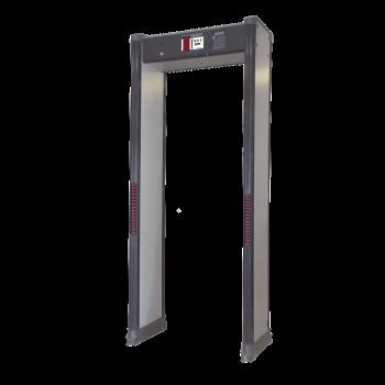 Arco Detector de Metales de 18 Zonas con Display grafico de alarmas y Certificacion FAA.