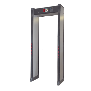 Arco Detector de Metales de 6 Zonas con Base para Fijarse al Piso.