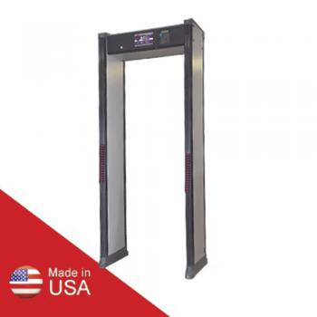 Arco detector de metales de 2 zonas para intemperie