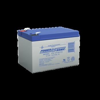 Batería de respaldo UL de 12Vcd, 12 AH. Ideal para aplicaciones de sistemas de detección de incendio/intrusión/Control de acceso. (Paquete de 4 baterías).