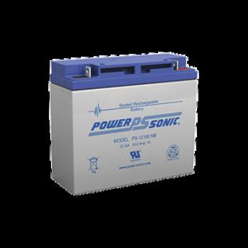 Batería de respaldo UL de 12Vcd, 18 AH. Ideal para aplicaciones de sistemas de detección de incendio/intrusión/Control de acceso. (Paquetes de 2 baterías).