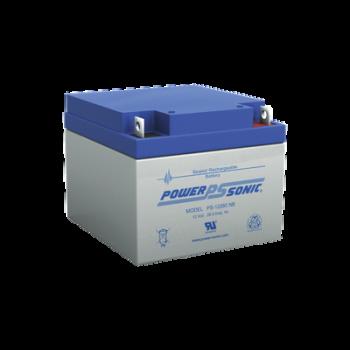 Batería de respaldo UL de 12Vcd, 26 AH. Ideal para aplicaciones de sistemas de detección de incendio/intrusión/Control de acceso. (Paquete de 2 baterías).