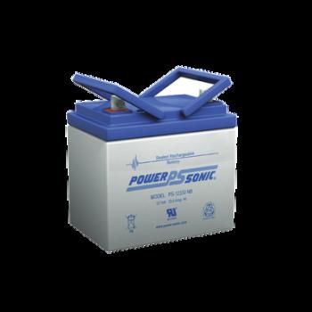 Batería de respaldo UL de 12Vcd, 33 AH. Ideal para aplicaciones de sistemas de detección de incendio/intrusión/Control de acceso.