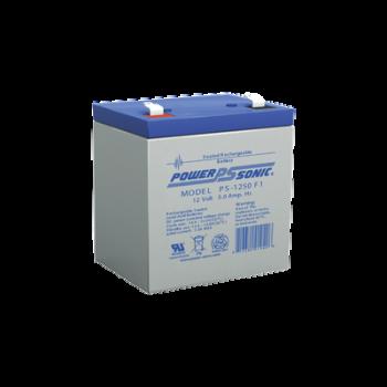 Batería de respaldo UL de 12Vcd, 5 AH. Ideal para aplicaciones de sistemas de detección de incendio/intrusión/Control de acceso. (Paquete de 10 baterías)