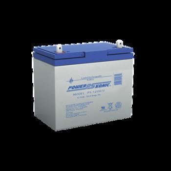 Batería de respaldo UL de 12Vcd, 55 AH. Ideal para aplicaciones de sistemas de detección de incendio/intrusión/Control de acceso.