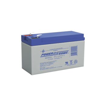 Batería de respaldo UL de 12Vcd, 7 AH. Ideal para aplicaciones de sistemas de detección de incendio/intrusión/Control de acceso.