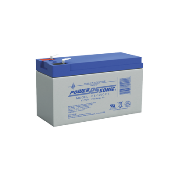 Batería de respaldo UL de 12Vcd, 7 AH. Ideal para aplicaciones de sistemas de detección de incendio/intrusión/Control de acceso. (Paquete de 5 baterías)