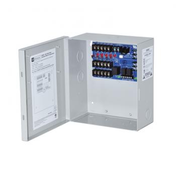 Módulo de distribución de voltaje a múltiples salidas. Para aplicaciones de Incendio/Control de acceso.